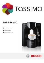 TASSIMO Espresso Maker TAS55xxUC User Manual
