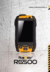 RugGear RG500 Data Sheet