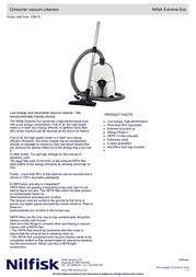 Nilfisk Extreme Eco 107403541 User Manual