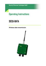 Secutech Radio modules ST002012 データシート