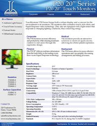 TouchSystems P2050C-U Leaflet