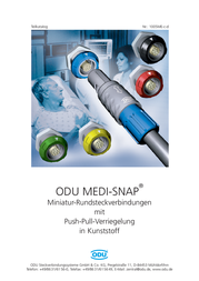 Odu KM1 020 121 934 007 Accessory For MEDI-SNAP Circular Connector KM1 020 121 934 007 Data Sheet