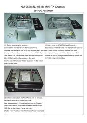 Jou Jye Computer NU-0528i-B NU-0528I-B+180W Leaflet