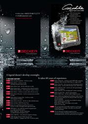 Becker Traffic Assist Z100 Crocodile 2014.971 Leaflet