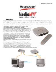 Hauppauge MediaMVP 1004 User Manual