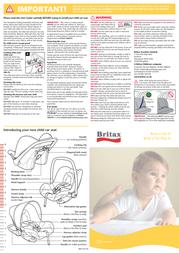Britax BB0-633-00 Leaflet