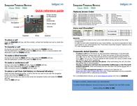 Belgacom 7960 Leaflet