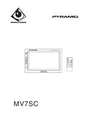Pyramid Car Audio Car Video System MV7SC User Manual