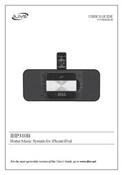 GPX IHP310B User Manual