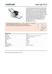 MartinYale 1217A Leaflet