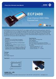 Sunix ECF2400 Leaflet