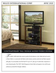 Bell'O AVSC-2122 Leaflet