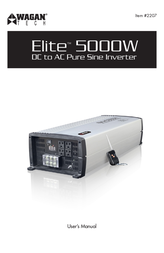 WAGAN Elite 5000 W User Manual