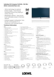 LOEWE Individual 40 Compose Full-HD+ 100 DR+ 67437U38 Leaflet