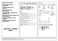 Slv LED outdoor flush mount light 2.6 W 550212 Black 550212 User Manual