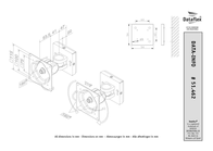Dataflex ViewMate Monitor Arm 462 51.462 Leaflet