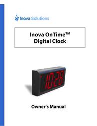 Inova OnTimeTM User Manual
