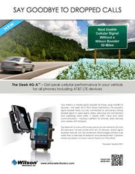 Wilson Electronics The Sleek 4G-A 815326 Leaflet