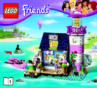 Lego Friends LEGO® FRIENDS 41094 HEARTLAKE LEUCHTTURM 41094 User Manual