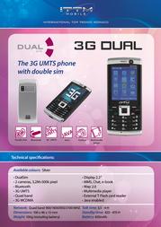 ITT 3G Dual 3G DUAL Leaflet