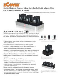 zCover CI921U3B CP-7921G-CI921U3B Leaflet