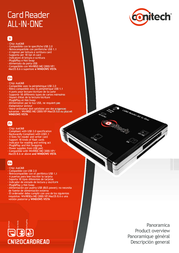 Conitech All-in-One Card Reader CN120CARDREAD Leaflet