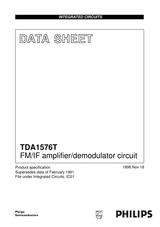 Philips TDA1576T Справочник Пользователя