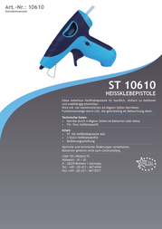 Star Tec ST 106 7 mm ST 106 Data Sheet