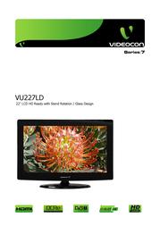 Videocon VU227LD User Manual