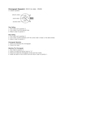 Fossil fs4545 Supplementary Manual
