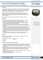 Carcomm CNM-171 Leaflet