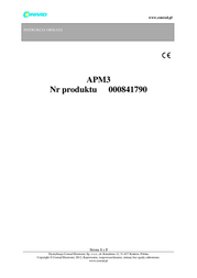 Novitec Car voltmeter 12 V Spannungsmesser APM-3 USB port 705APM3 User Manual