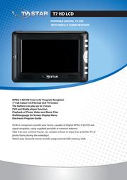TV STAR TV T7 HD T7 Leaflet