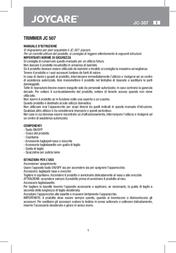 Joycare JC-507 User Manual