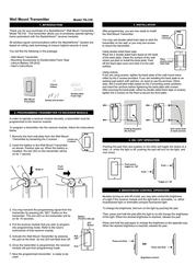 Skylink WALL MOUNT TB-318 Leaflet