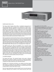 NAD M5 User Manual