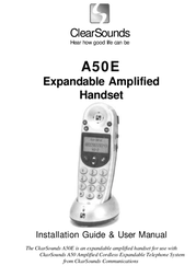 Clearsounds A50E User Manual