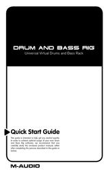 M-AUDIO DSR470 User Manual