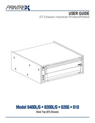 Printek Personal Computer 820DL/G User Manual