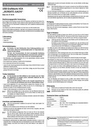 j5 create JUA210 User Manual