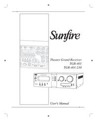 Sunfire TGR401 User Manual