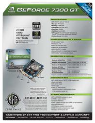 BFG Tech 7300 GT 512MB 150869 Leaflet