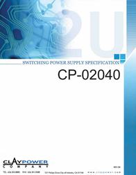 iStarUSA CP-02040 User Manual