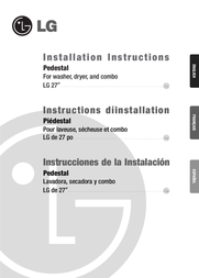 Goldstar LG 27 Installation Instruction