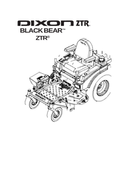 Dixon ZTR34/968999566 User Manual