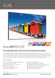 DynaScan DS55LX3 Leaflet