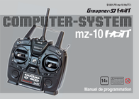 Graupner Hendheld RC 2.4 GHz No. of channels: 5 S1001.DE Data Sheet