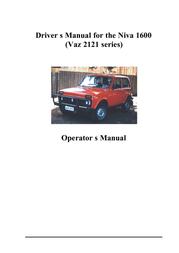 Lada VAZ2121 User Manual