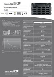 Microdowell Enterprise N50 5000VA B.Box P000500A Leaflet