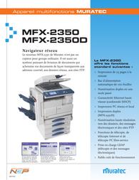 Muratec MFX-2350 Leaflet